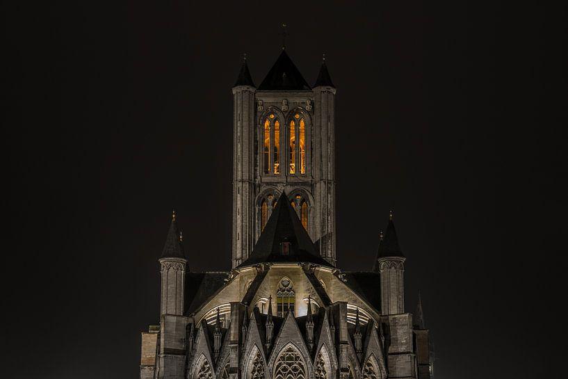 De Sint-Niklaaskerk in Gent van MS Fotografie   Marc van der Stelt