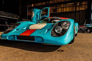 Raceauto Porsche van Brian Morgan