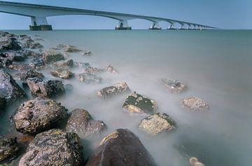 Zeeland bridge in de province Zeeland (The Netherlands sur Ardi Mulder