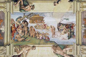 Michelangelo. De Zondvloed van 1000 Schilderijen