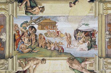 Michelangelo. Die Flut