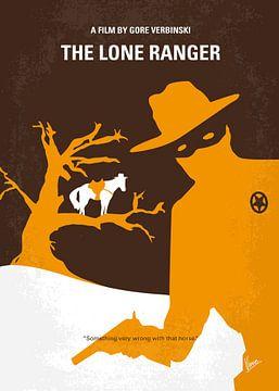 No202 My The Lone Ranger minimal movie poster van Chungkong Art