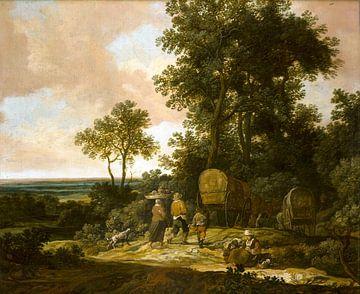 Heimkehrende Bauern, Pieter de Molijn