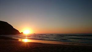 Elemental Sunset van Tom van Wijck