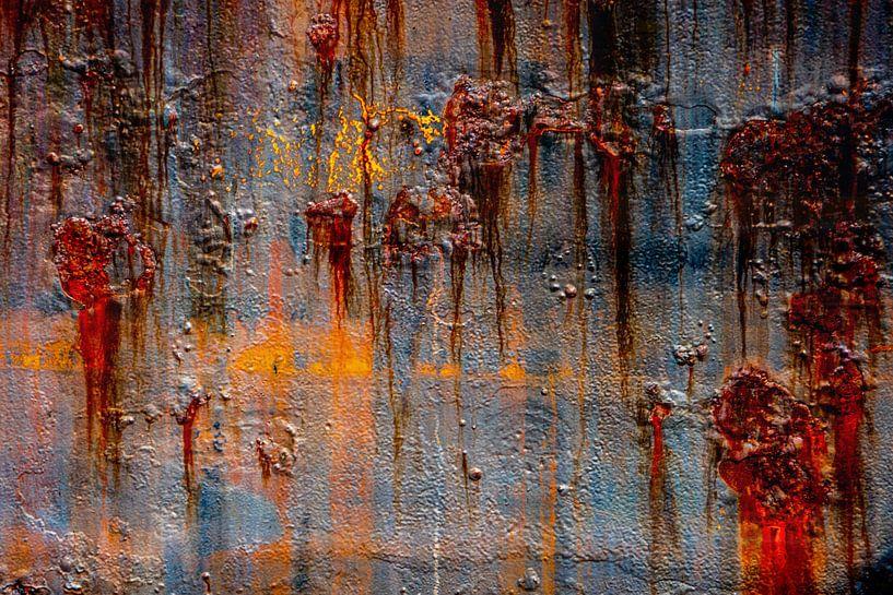 Rostige abstrakte von Leo Luijten