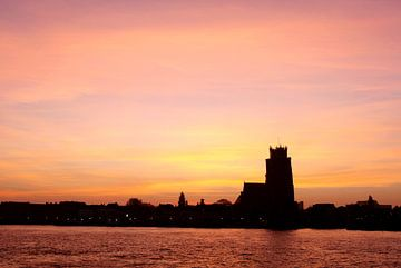 warm ochtendlicht Dordrecht van Martin Hulsman
