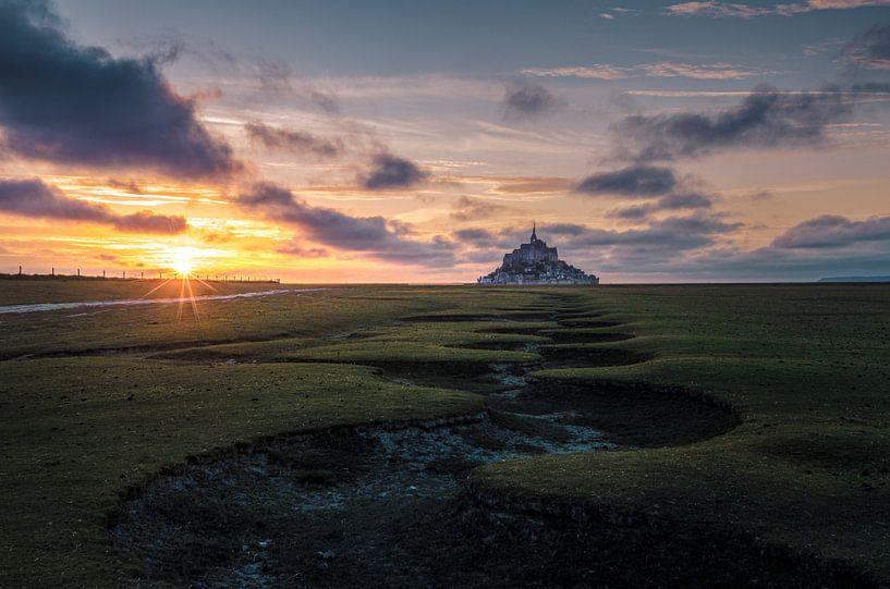 Le Mont saint Michel van Rob Visser
