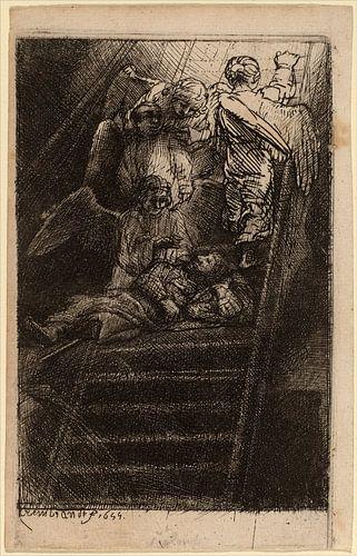 Rembrandt van Rijn  Jakobsleiter von Rembrandt van Rijn