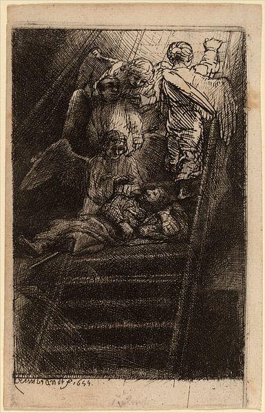 Rembrandt van Rijn  Jacob's Ladder van Rembrandt van Rijn