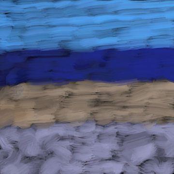 Wintertag am Strand von Maurice Dawson