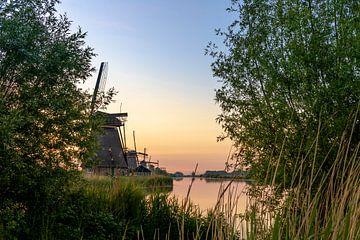 Die Windmühlen in Kinderdijk. von Henk Van Nunen