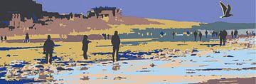 Das Mehr,  Bloemendaal aan Zee von Ilse Schoneveld