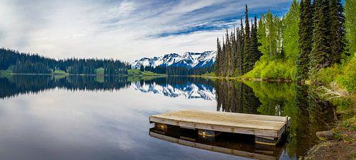 Aanlegsteiger in meer, Canada