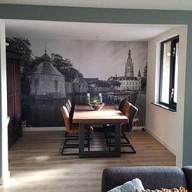 Klantfoto: Goedemorgen Breda Spanjaardsgat! van Jean-Paul Wagemakers, op behang