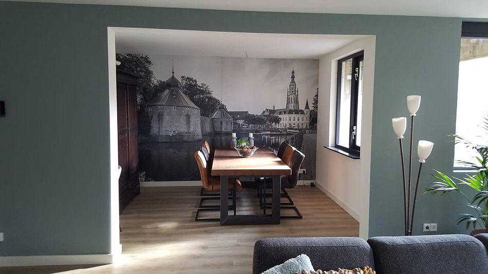 Klantfoto: Goedemorgen Breda Spanjaardsgat! van JPWFoto, op behang