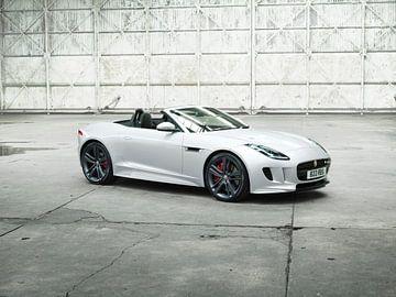 Jaguar F-Type van