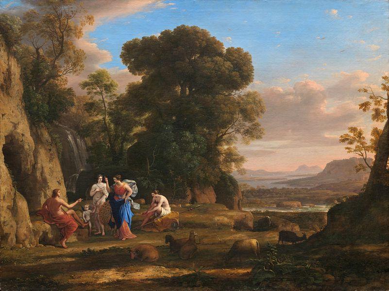 Claude Lorrain. Het oordeel van Paris van 1000 Schilderijen