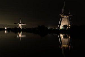 Kinderdijk by Light
