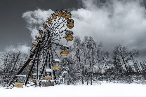 Forgotten ferris wheel Pripyat van