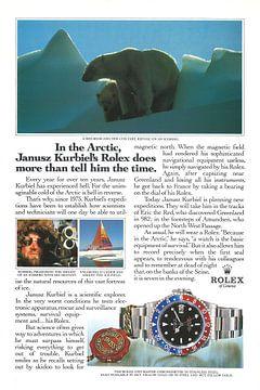 Rolex reclame 1990 van Jaap Ros