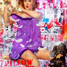 Pillowfight van Sharon Harthoorn