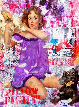 Pillowfight von Sharon Harthoorn