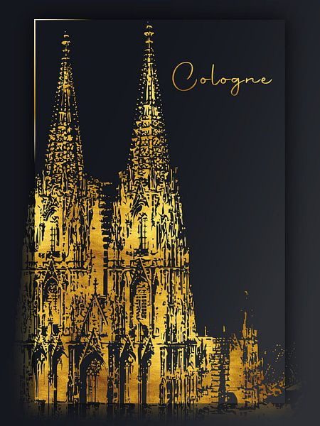 Cologne sur Printed Artings