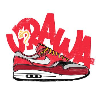 "Nike Air Max 1 ""Urawa"" von Pim Haring"