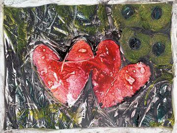Herzen Nr. 2 von Katrin Behr