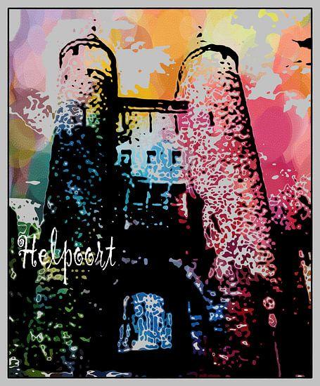 MAASTRICHT - MESTREECH HELPOORT van MY ARTIE WALL
