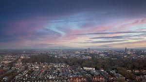 Groningen van boven van Raymond Bos