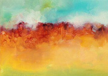 Autumn Hills van Maria Kitano