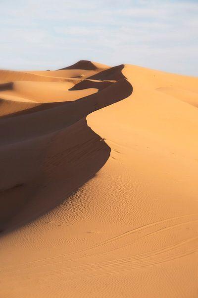 Erg Chebbi woestijn Marokko van Veronie van Beek