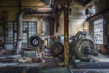 Compressoren van Truus Nijland