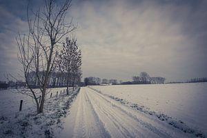 Schneelandschaft - Leerbeek von vw-photography