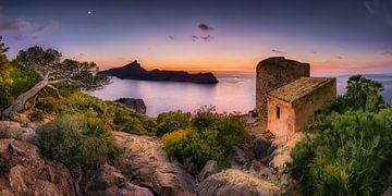 Kustlandschap in het zuiden van Mallorca van Voss Fine Art Fotografie