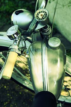 Altes Motorad van Markus Wegner