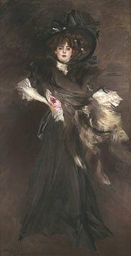 Ritratto di Mademoiselle Lanthèlme, Giovanni Boldini, Giovanni Boldini.