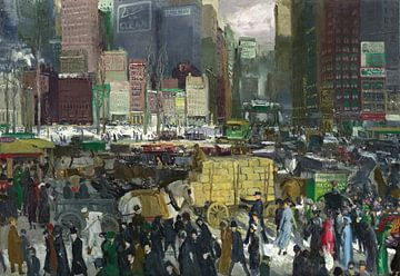 New York, George Bellows sur