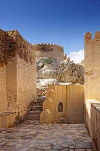 Fort in  Nakl in Oman
