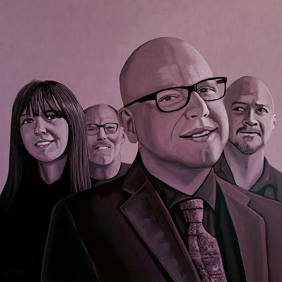 The Pixies Schilderij
