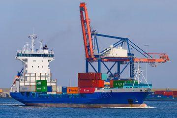 Cargo container ship sur