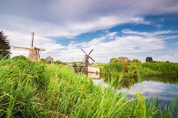 De twee molens van Oud Zuilen (Maarssen/ Utrecht) van Michel Geluk