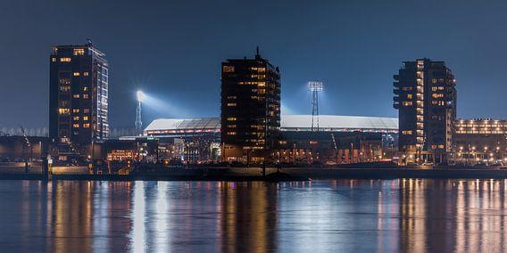 """Feyenoord Stadion """"De Kuip"""" 2017 in Rotterdam (formaat 2/1) van MS Fotografie"""