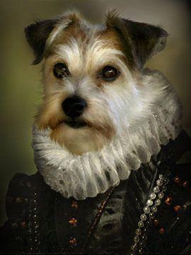 Hondenportretje von san image