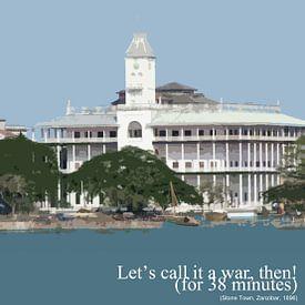 Stone Town, Zanzibar - Tanzania - Let's Call It A War Then! van René van Stekelenborg