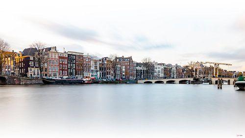Amsterdam  Magere brug / Schlanke Brücke  von