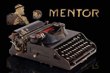 Schreibmaschine Mentor Modell 2 sur Ingo Rasch