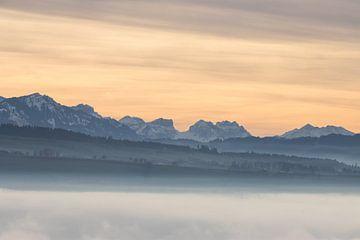 Zwitserse alpen van Lars Korzelius