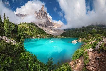 Lago di Sorapis in den Dolomiten von Jean Claude Castor